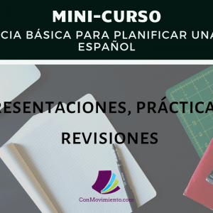 secuencia básica para planificar una clase de español