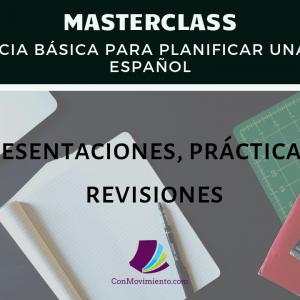 Masterclass para presentar, practicar y revisar en tu clase de español