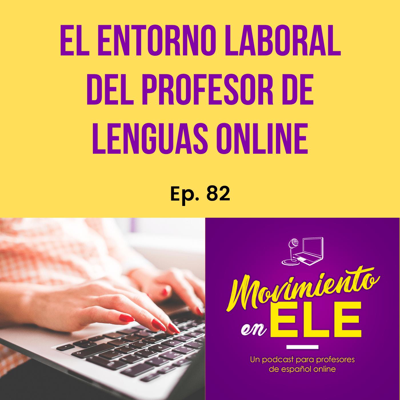 Entorno laboral de profesor de lenguas online