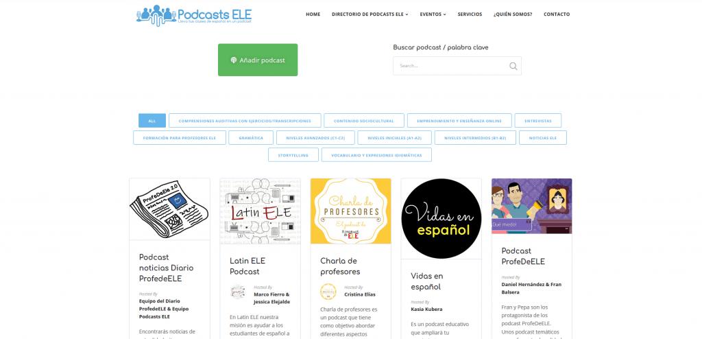 directorio podcasts ele