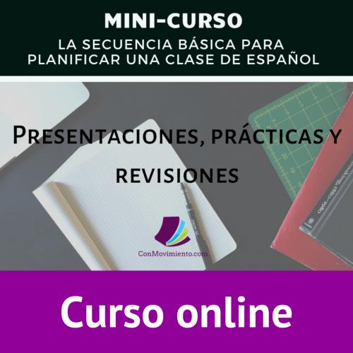 secuencia basica planificar clase de español