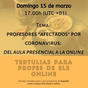 profesores coronavirus