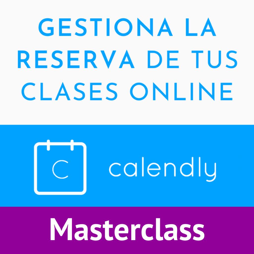 Gestiona la reserva de tus clases online Curso