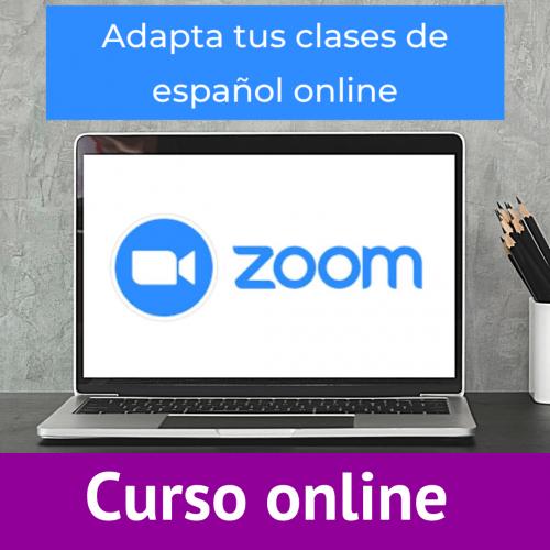 adapta tus clases español online con zoom