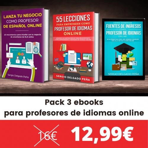 pack ebook profesores idiomas emprendedores