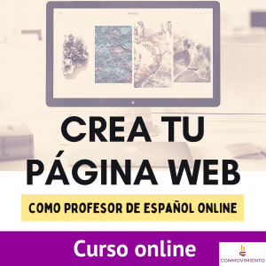 CREA TU PAGINA WEB profesor de español online